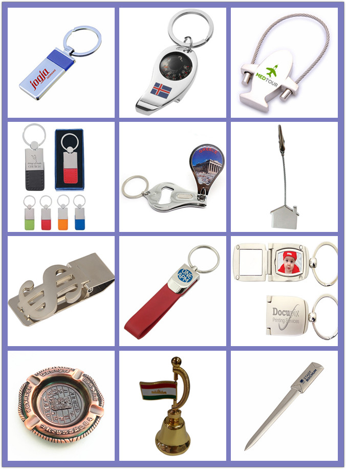 Fashion Style Bottle Opener Key Chain Thermometer Promotional Gift (F5002C)