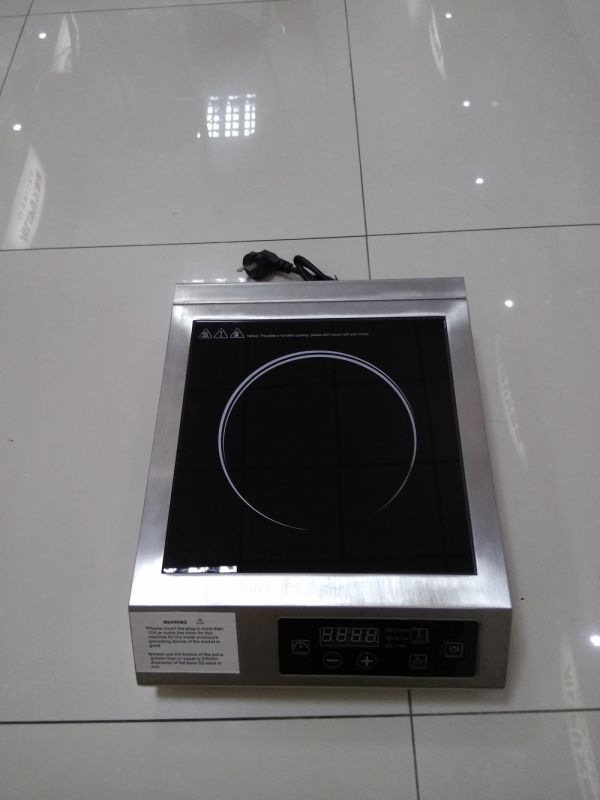 2 Cooling Fan Cook Stainless Steel 3500W Electric Induction Cooktop, Electric Countertop Burners