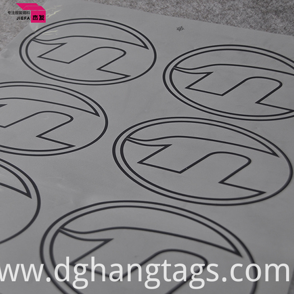 Eco-Friendly 3D Garment Heat Transfer Label Clothing Label