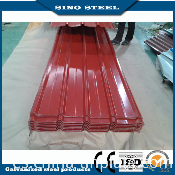 High-End Professional Colored Coated Metal Roofing Sheet