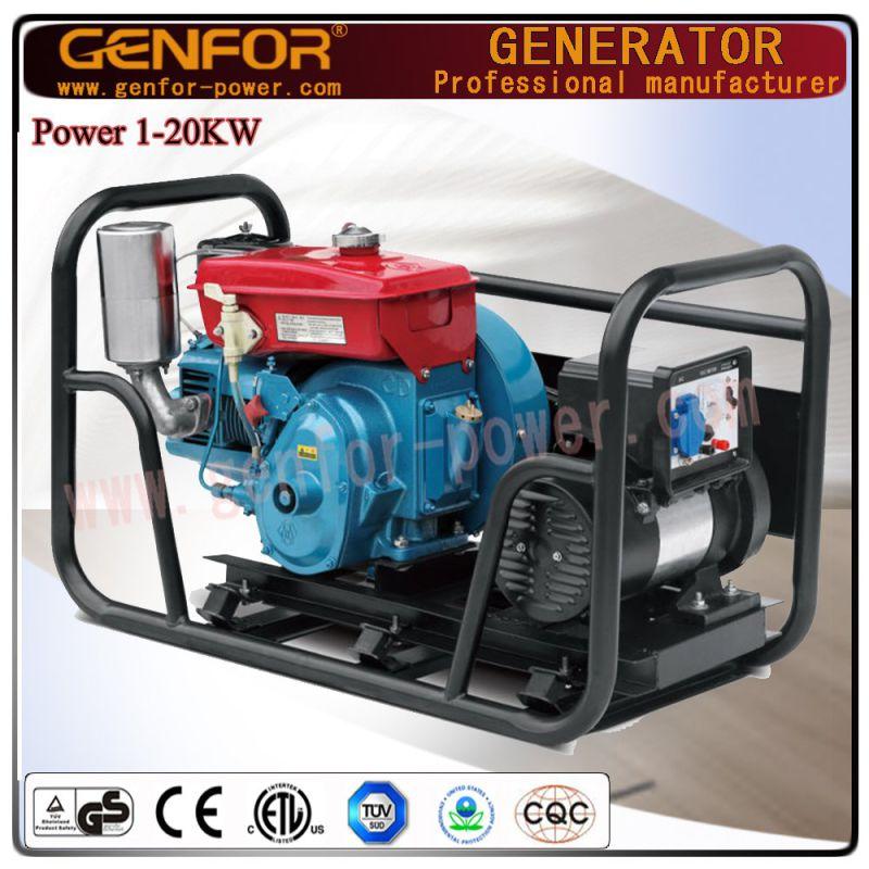 Factory Direct Sale Diesel Generator Genfor Generator Set 5kw