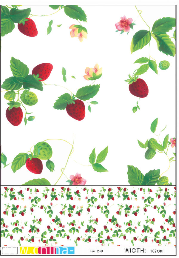 PVC Printed Pattern and Oilproof, Disposable, Waterproof Feature Nonwoven