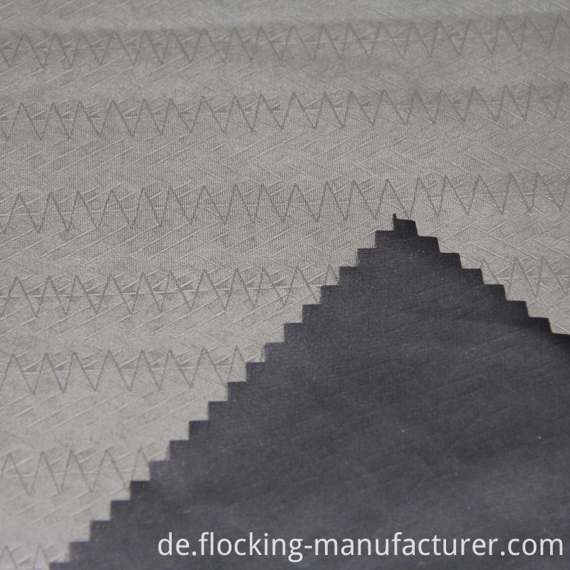 Embossed Polyester Fabric for Men's Casual Windproof Jacket