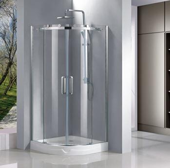 8mm by Pass Sliding Shower Door