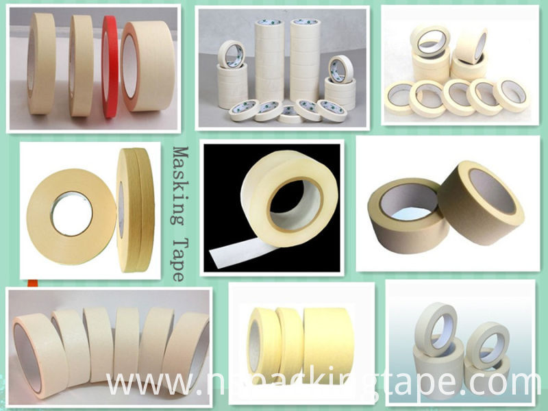 High Adhesion Crepe Masking Tape