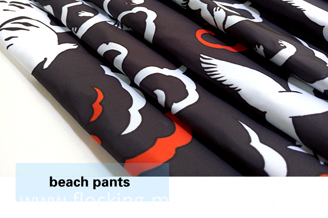 Fancy Animal Design Polyester Brushed Printed Casual Garment Fabric