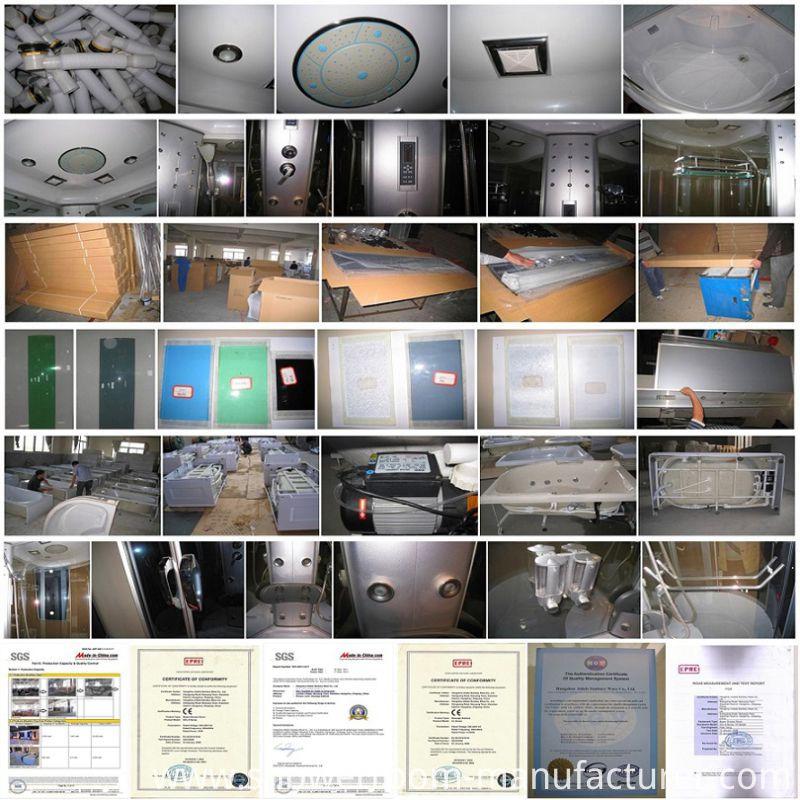 ABS Back 120*120cm Massage Shower Room (ADL-8326)