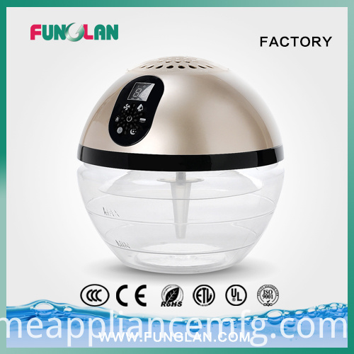 Water Air Freshener with Ion and UV Purifier