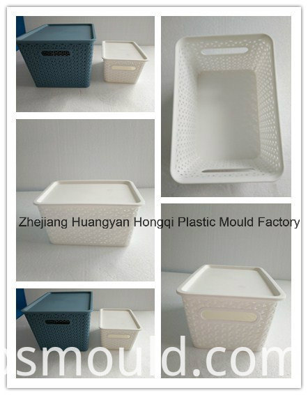 Plastic Rattan Packing Box Injection Mould with ISO Certification