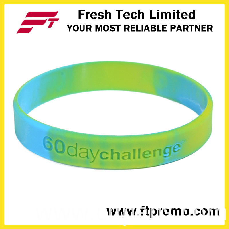 Customized Silicone Wristband with Your Logo