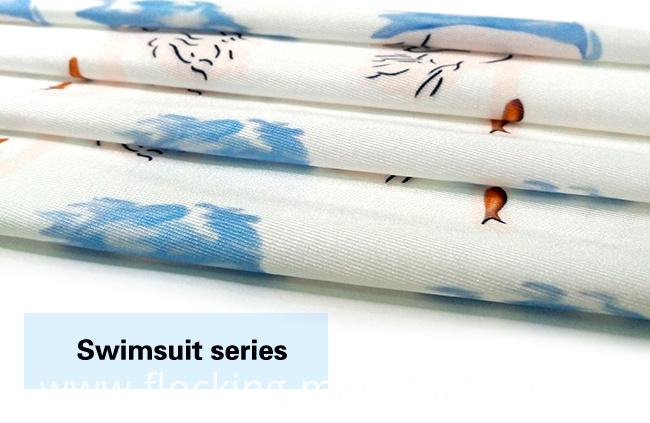 High-Stretch Digital Printed Knitted Swimwear/ Jersey Dress Fabric