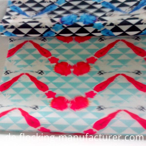 3D Digital Printed Polyester Dress/ Skirt Garment Fabric