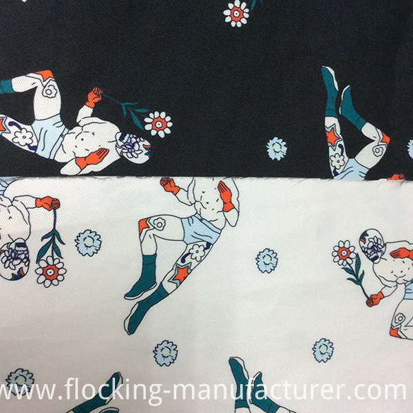 185GSM Printed Polyester Twill Garment/ Home Textile Fabric