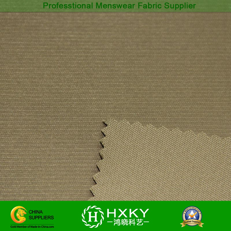 The Embossing Stretch Polyester Fabric for Trench or Wadded Jacket