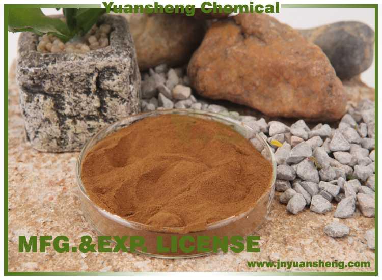 High Pure Wood Sodium Lignosulfonate Powder with MSDS