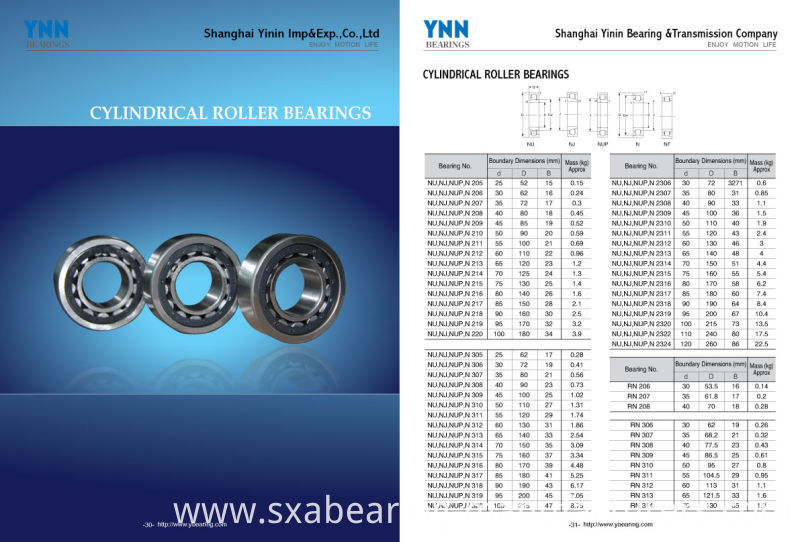 China Factory Non-Standard Rolling Bearing