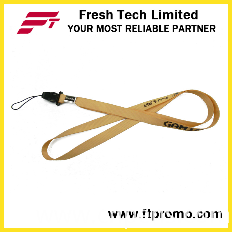 China OEM Promotional Product Polyester Lanyard