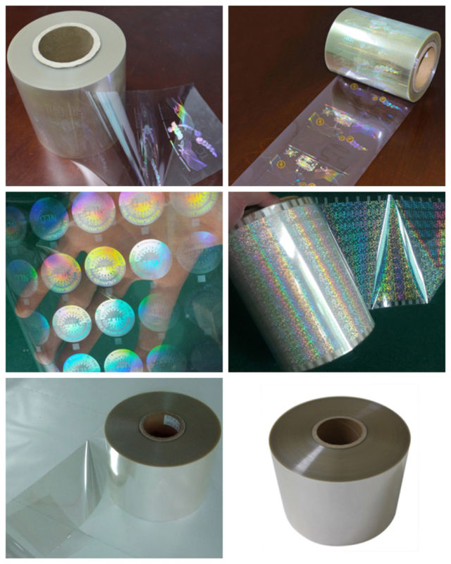 Hologram Hot Stamping Embossing Transparent Film