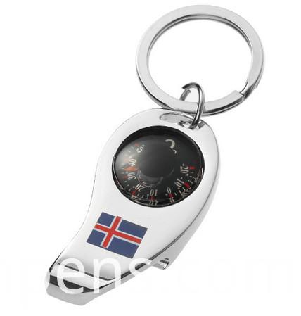 Promotion Gift Metal Engrave London Keychain Bottle Opener Souvenir (F5006)
