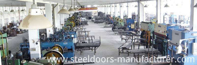 Metal Door with Car Painting Steel Door Cheap Price to Ghana Exterior Door (FD-031)