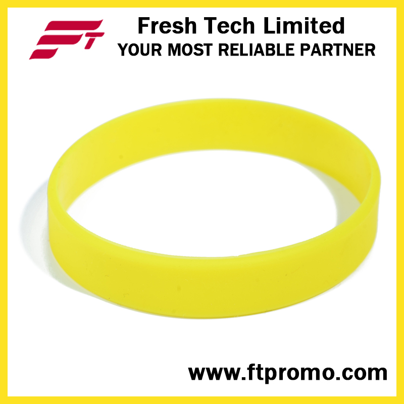 Glow in Dark Promotional Gift Silicone Wristband