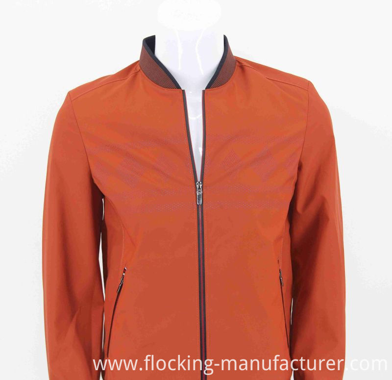 50d 2 Layer Polyester Pongee Fabric for Mens Jacket