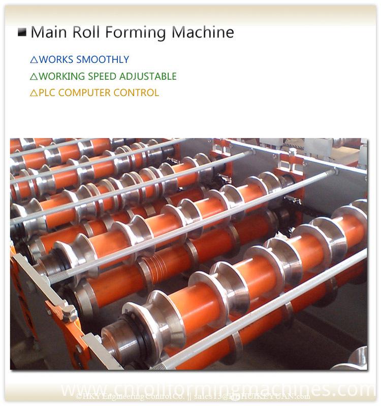 Rolling Machine Packing Roof Sheet machine Tool