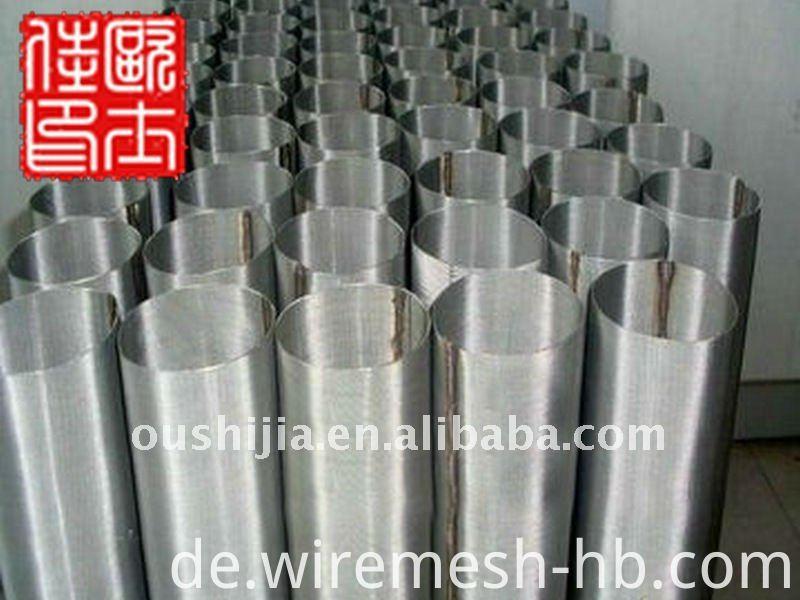 316 Edelstahl 100 Mikron Drahtgeflechtschirm & 1000 Mikron Filter Mesh
