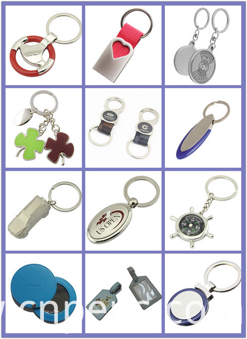 Promotional Souvenir Sport Football Key Chain with Custom Logo (F1396)