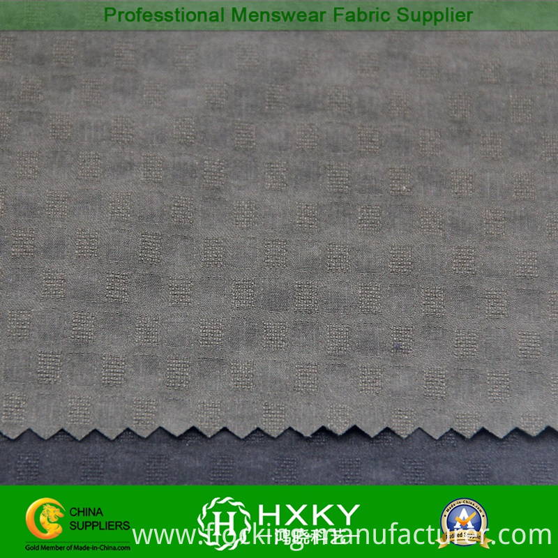 4-Way Spandex Nylon Jacquard Fabric for Jacket or Sportswear