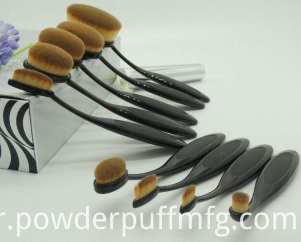 2016 Popular Synthetic Hair Toothbrush Makeup Brush