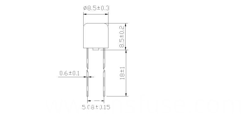 Micro Fuse Fast-Acting RF2-8 Series