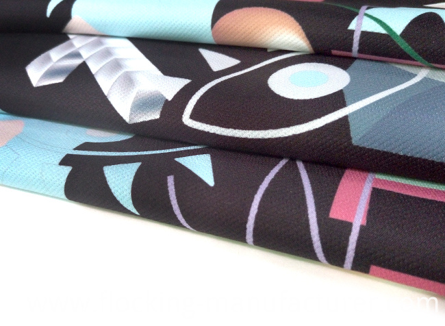 Printed Polyester Jacquard Fabric for Garment and Home Textiles
