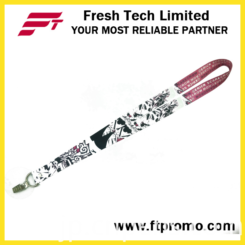 OEM Promotion Gifts Polyester Lanyard with Designed Logo