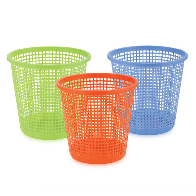 Plastic Open Top Hollow Waste Bin