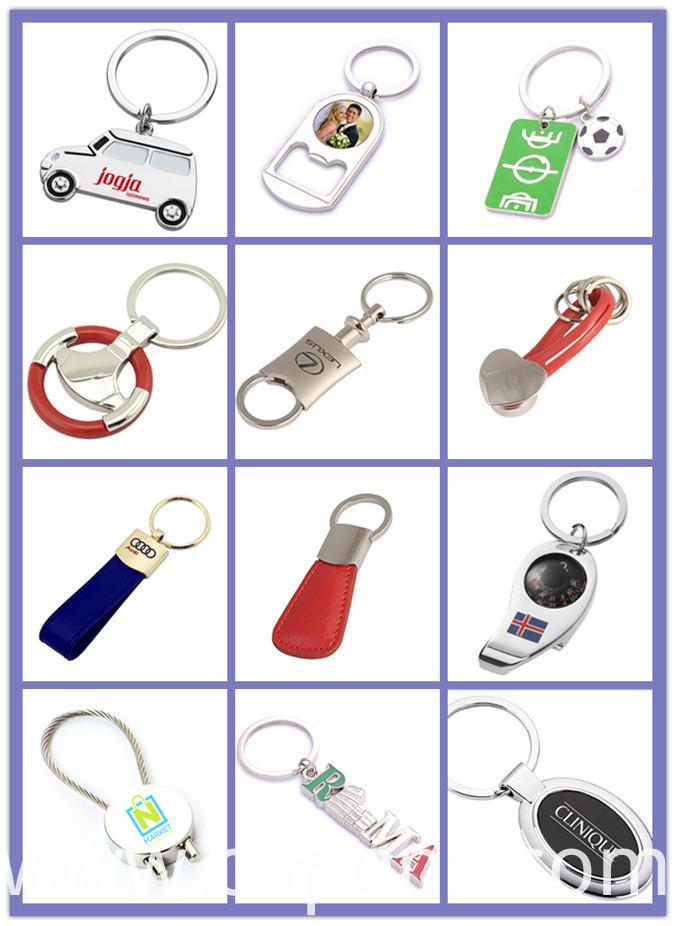 Souvenir Unique Design Gifts Popular Calendar Keychain for Promotion (F1029)