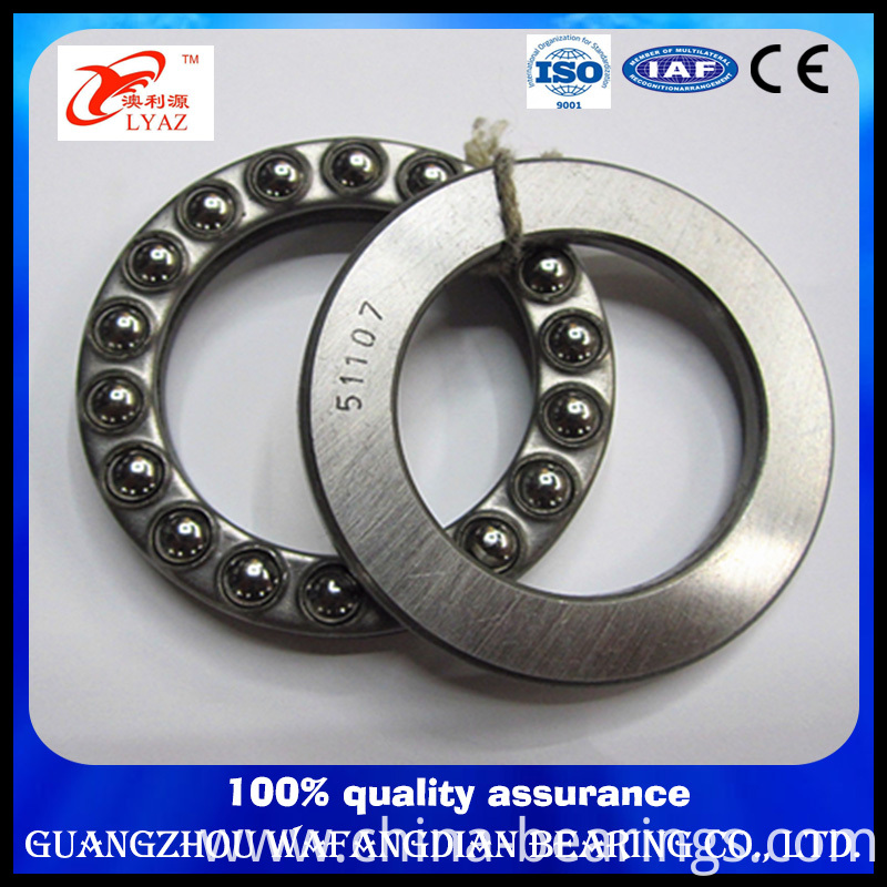 China Supplier Size 340X460X96 Single Direction Thrust Ball Bearing 51268 51268f
