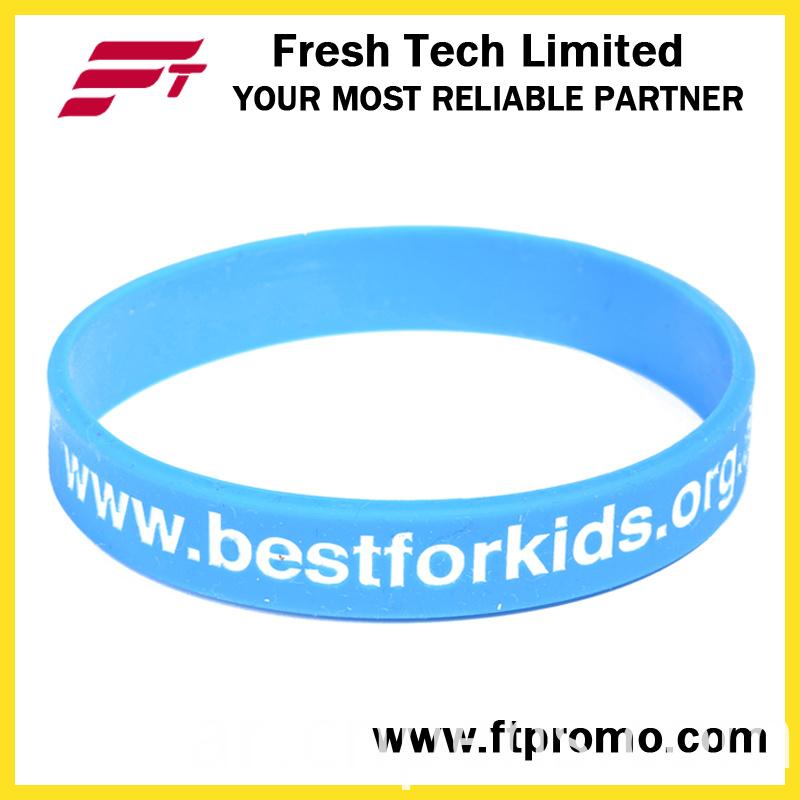 Promotional OEM Company Gift Silicone Wristband
