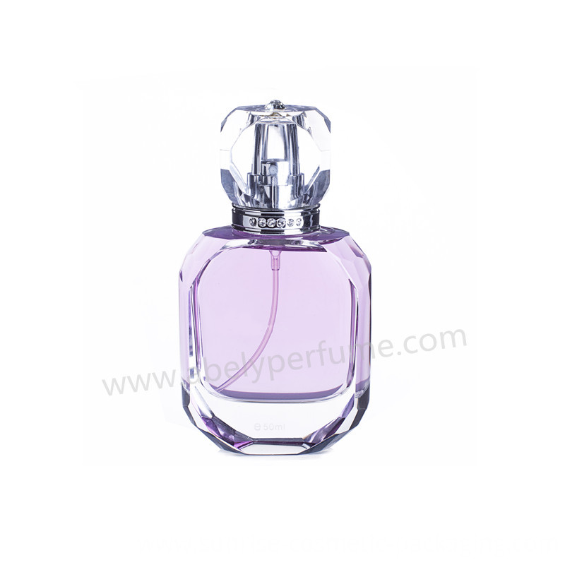 Hot Selling Crystal Perfume Bottle with Fine Mist Sprayer