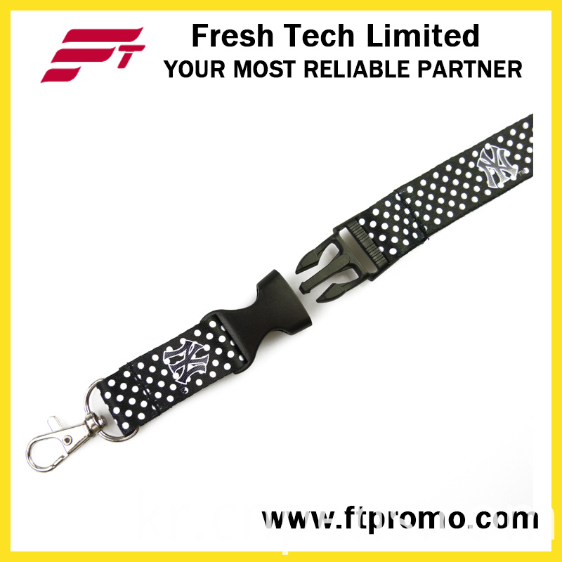 Chinese Cheap OEM Promotional Gift Polyester Lanyard