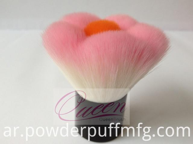 Synthetic Hair Flower Kabuki Brush