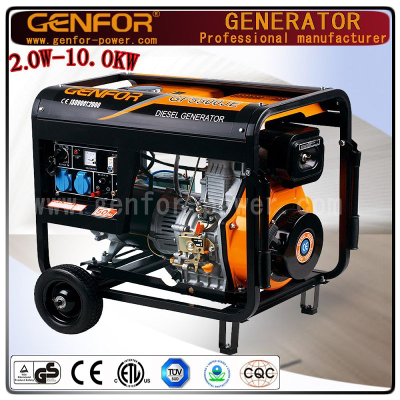 High Quality Air Cooled 4 Storke Diesel Engine 3kw Small Portable Diesel Generator
