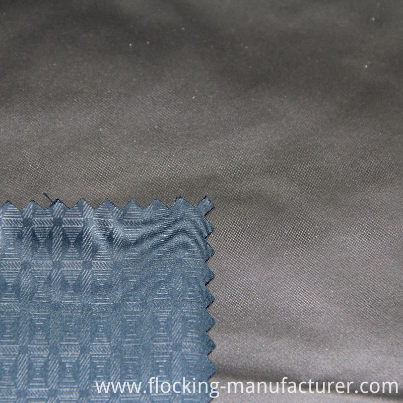 Polyester Embossed Fabric for Men's Outerwear