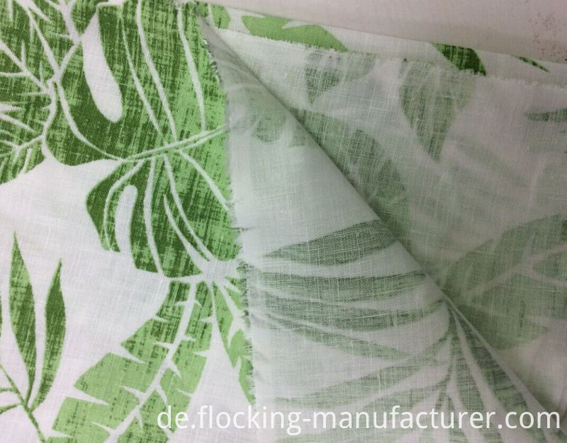 100%Linen Printed Garment Fabric, Home Textiles Fabric