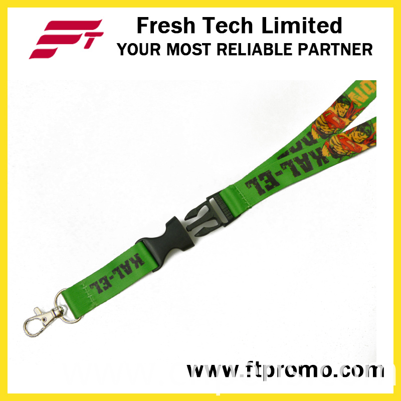 Made in China Cheap Polyester Lanyard with OEM