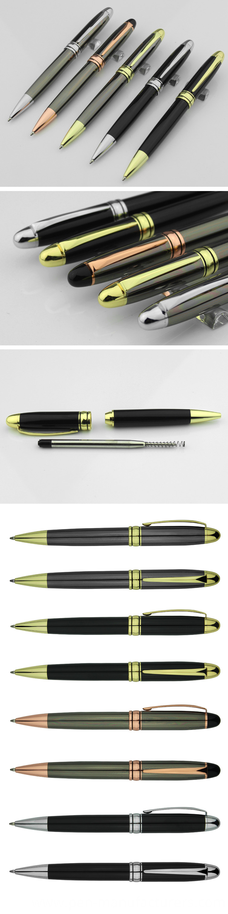 Office Stationery Promotional Pen OEM Accept Metal Pen on Sell