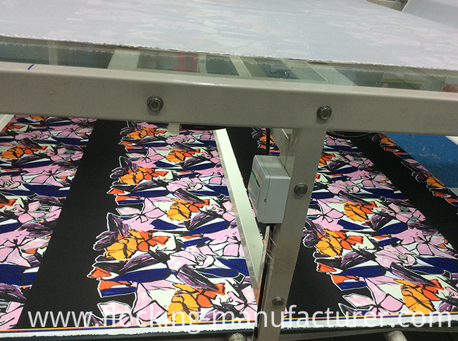 Polyester Printed Autumn/Winter Dress, Jacket Garment Twill Fabric