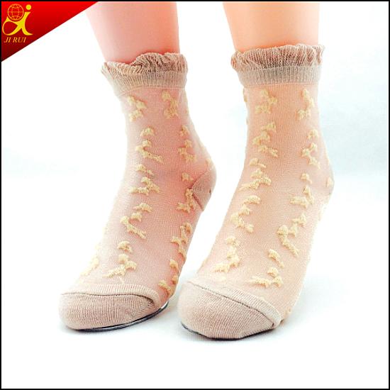 Hotsale Transparent Chinese Design Socks