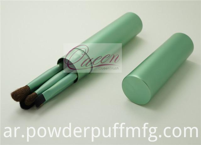Free Sample 5PCS Green Eyeshadow Makeup Brush Tool Kits