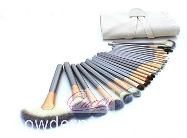 Beauty Cosmetics 24PCS Synthetic Makeup Brush Set with Bag